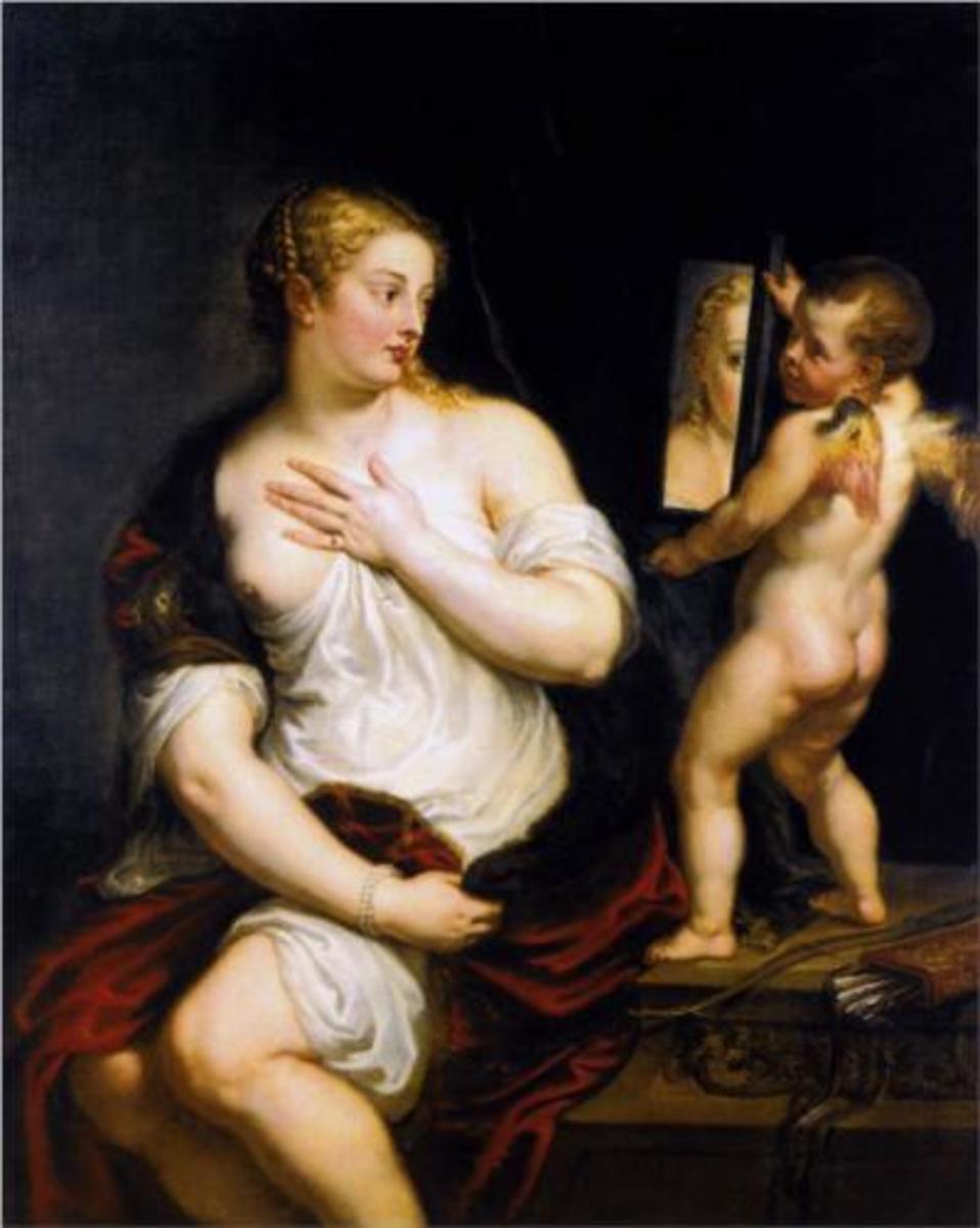 Venus at her Toilet, 1608