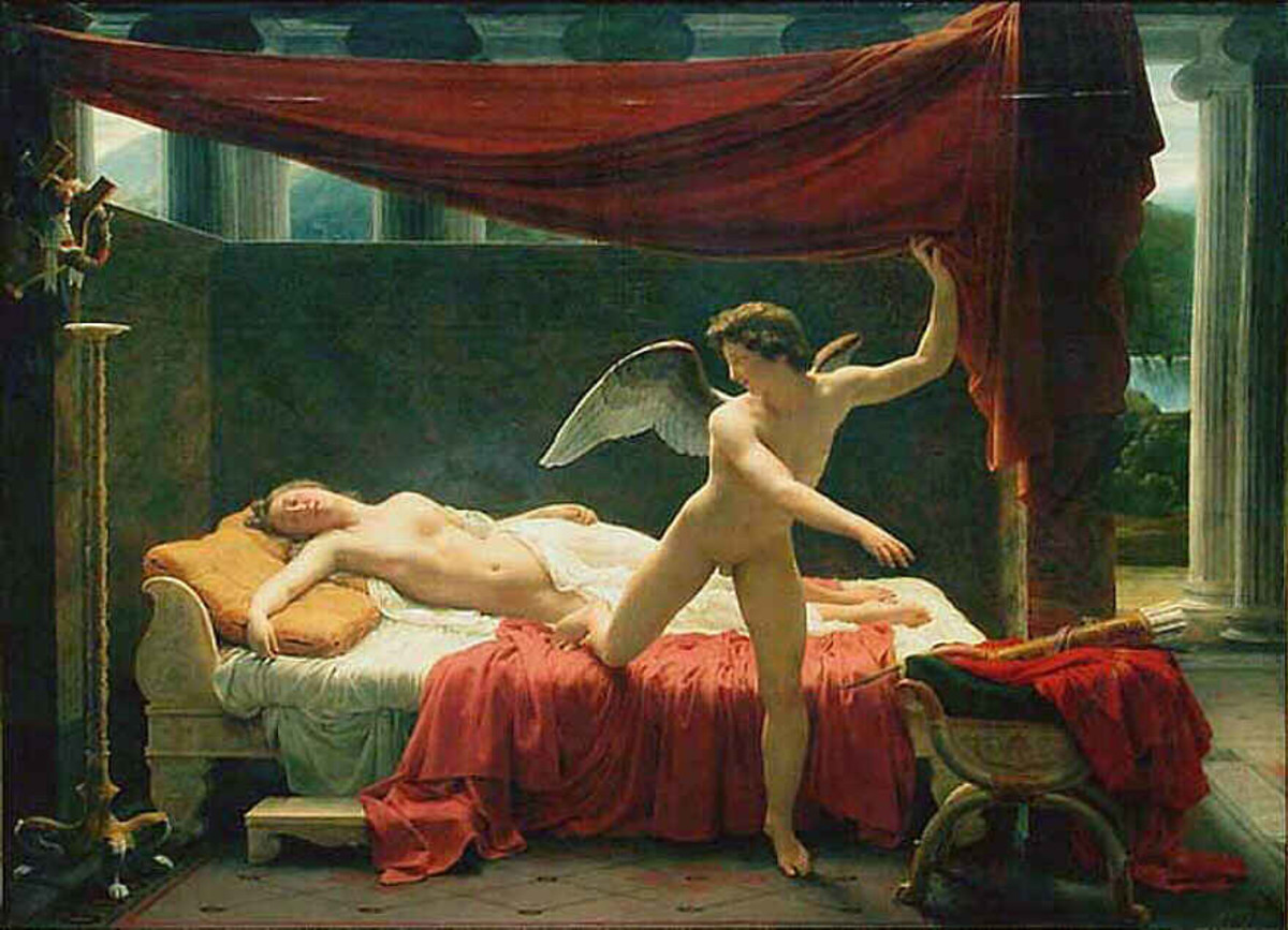Eros and Psyche, 1817