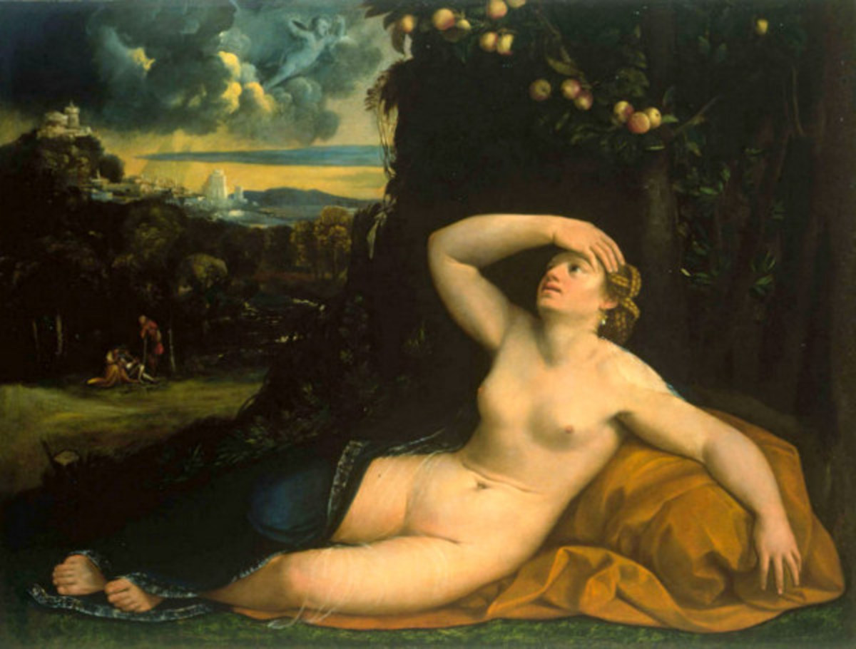 Psyche Abandoned by Amor (Love)