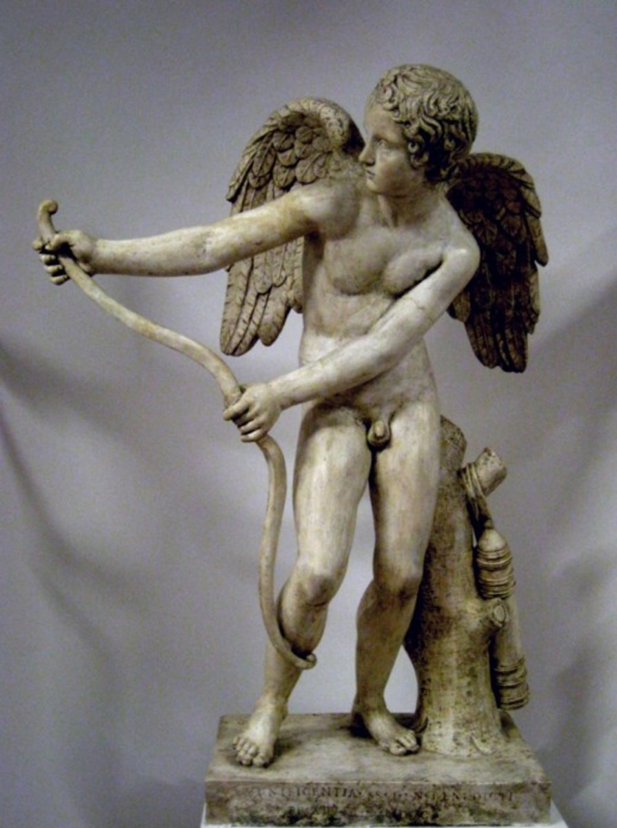 Eros Bending His Bow