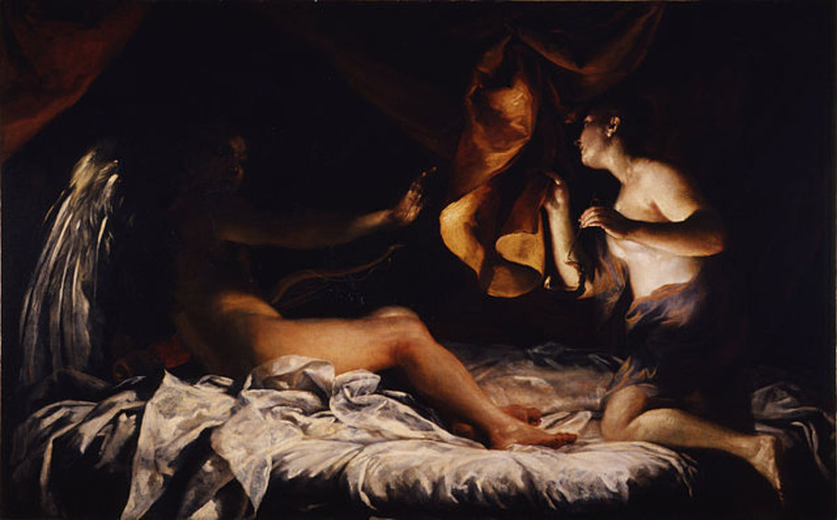 Amor and Psyche, 1709