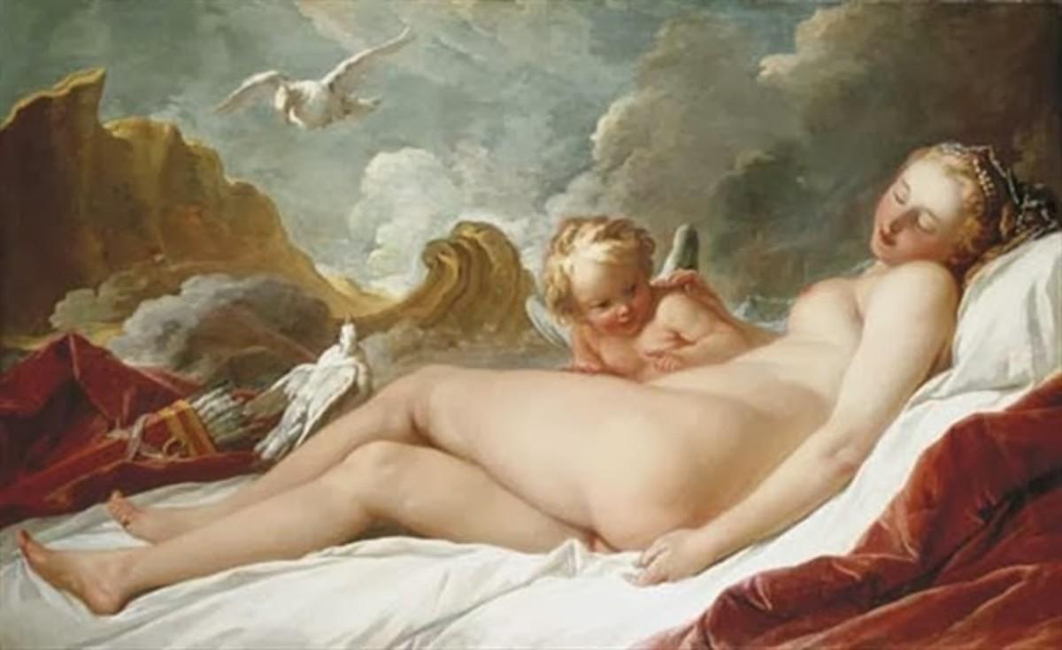 Sleeping Venus 1734