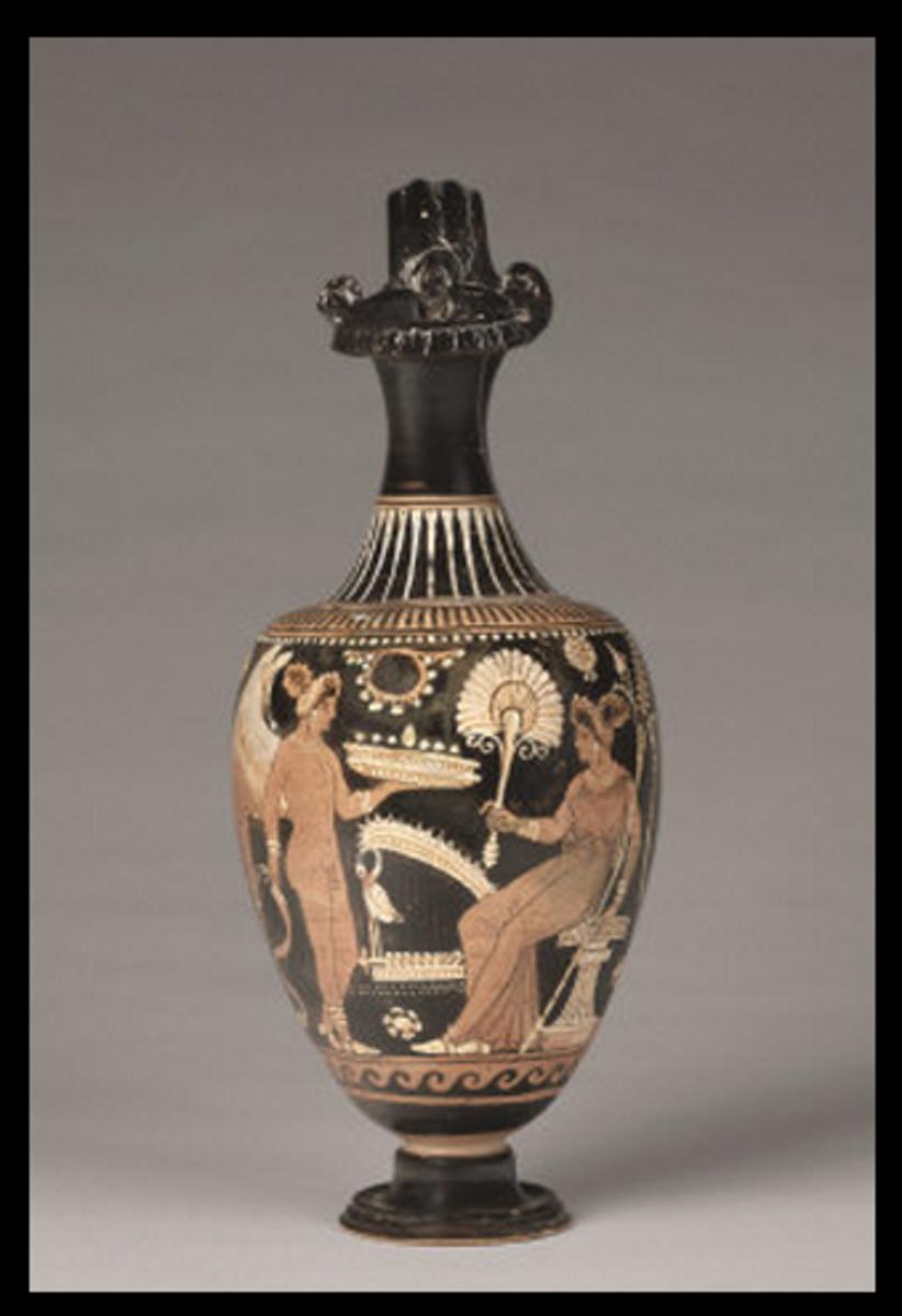 Cupid and Venus, circa 330 BCE