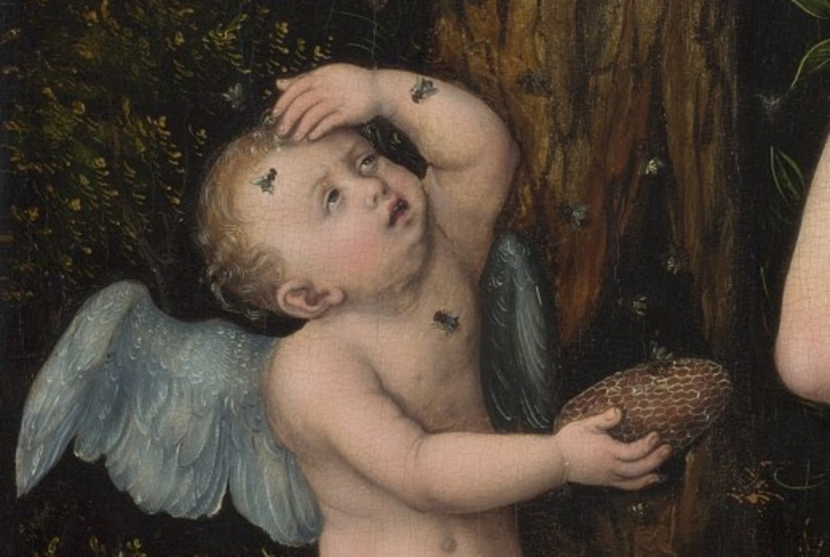 Detail of Cupid Complaining to Venus