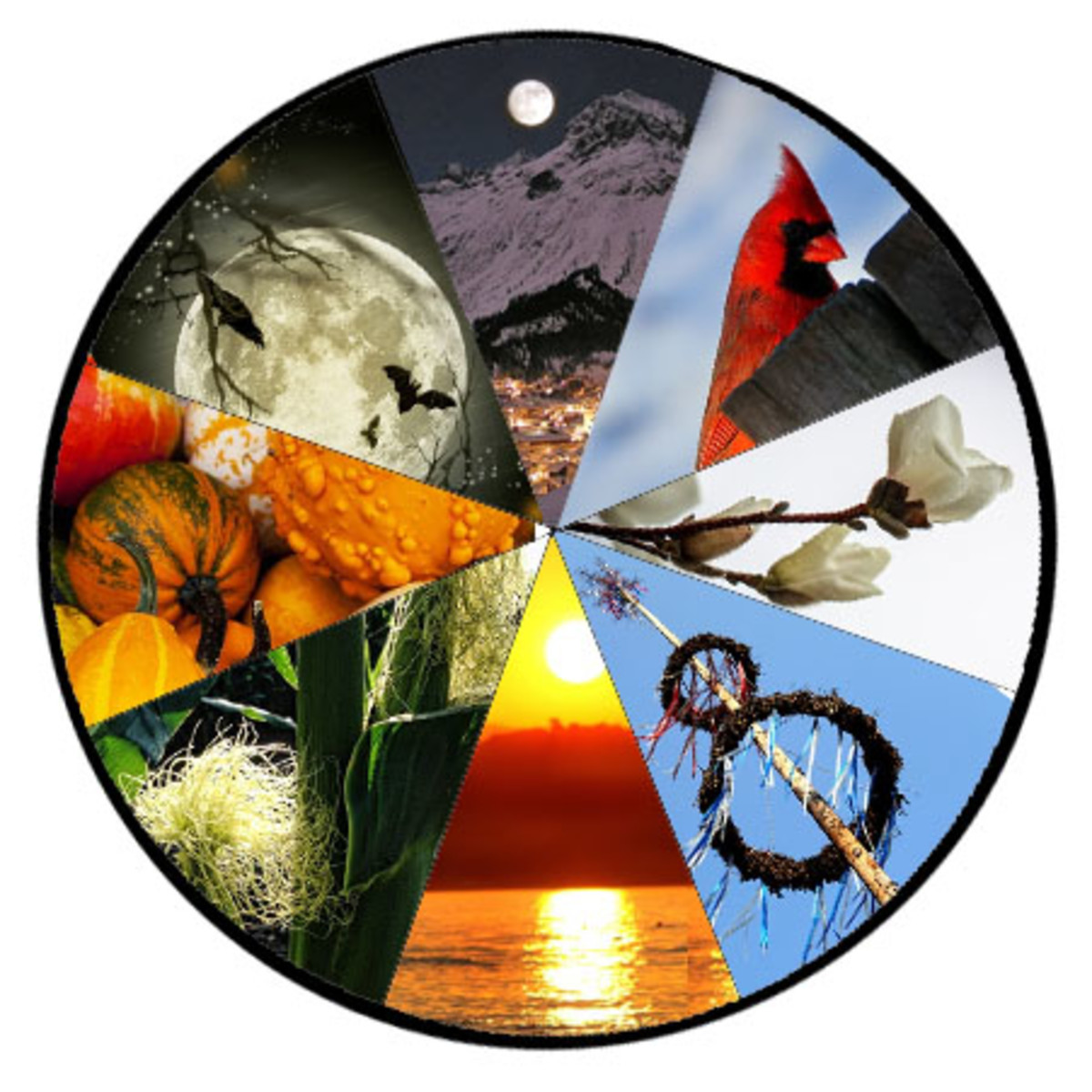 An Overview of the Wiccan Wheel of the Year