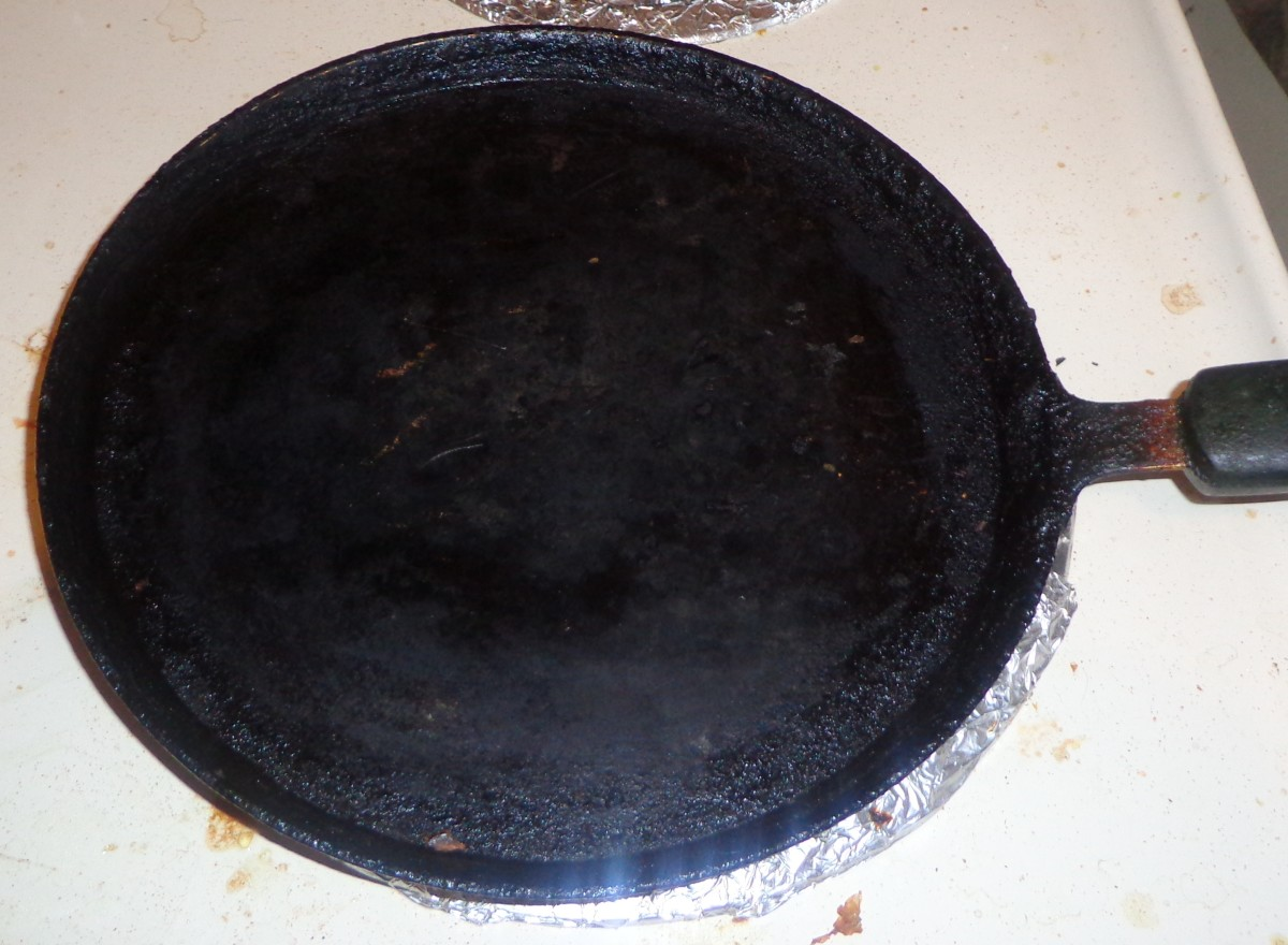 Non stick tawa placed on a medium flame.