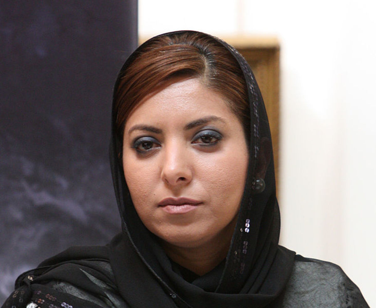 Saudi business woman Dr. Afnan Al-Shauiby with shayla scarf