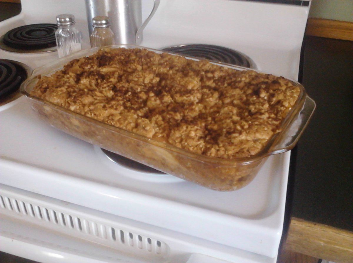 Apple Crisp Using Pie Filling