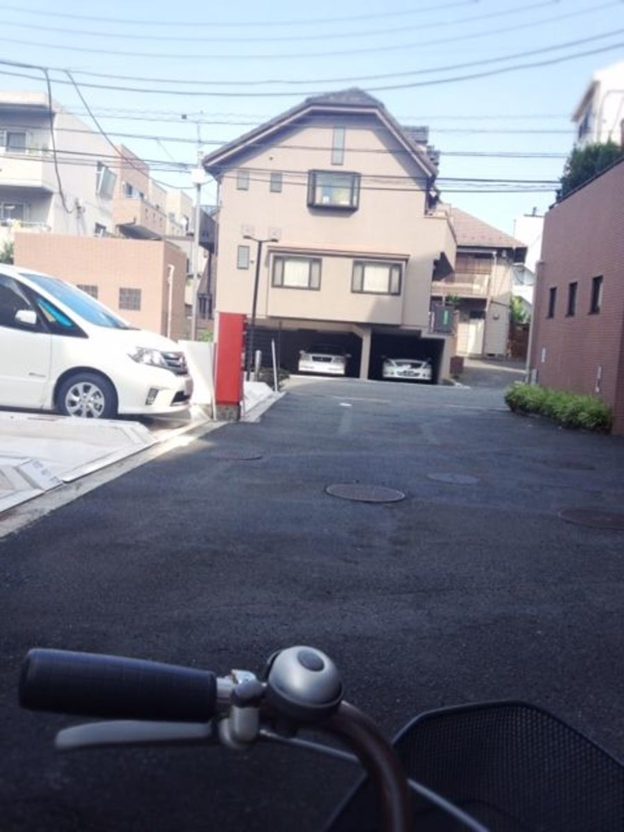 Let's hop on our bikes and go for a short ride around my neighborhood.