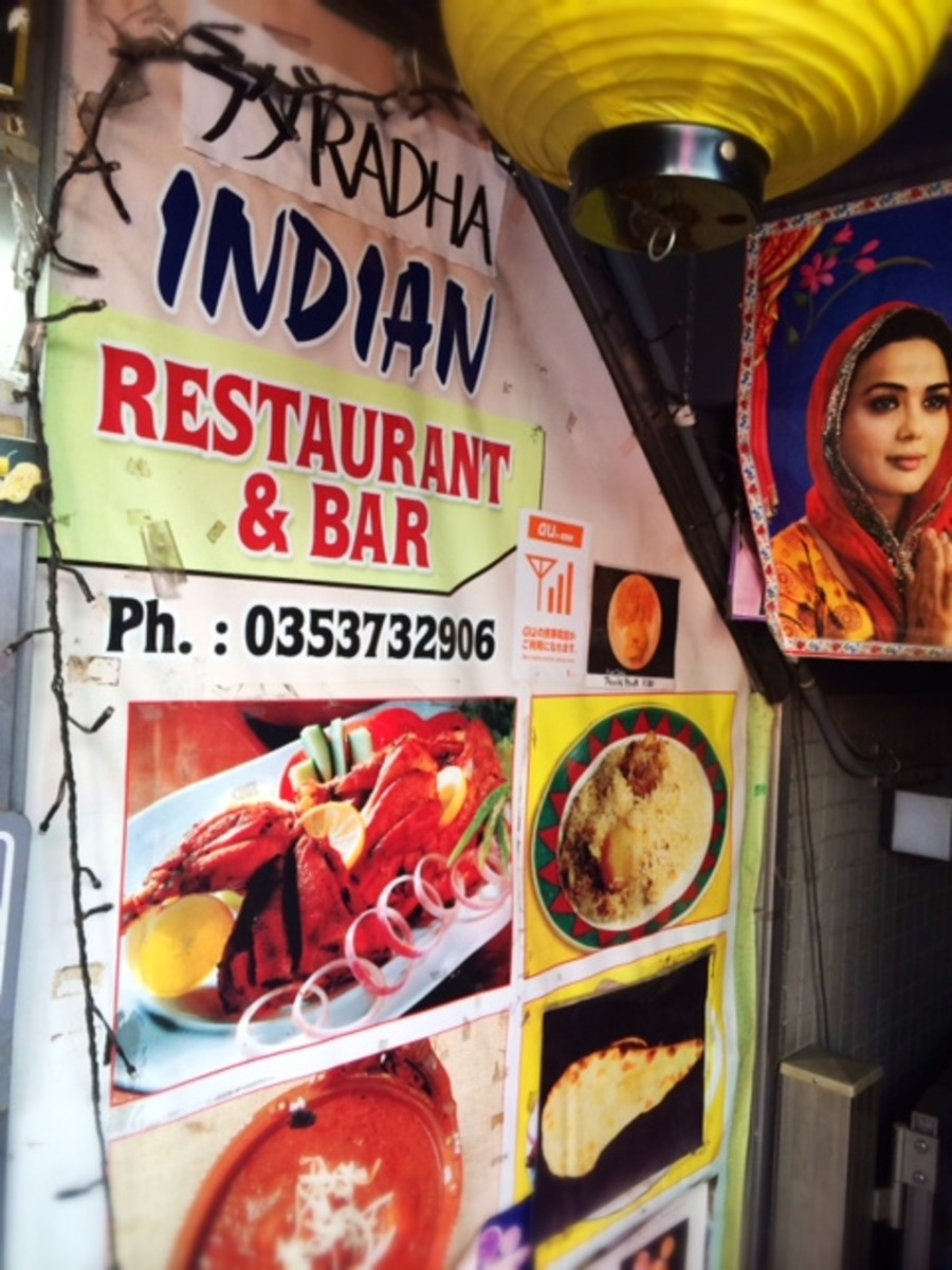 Spicy Indian restaurant near the station.