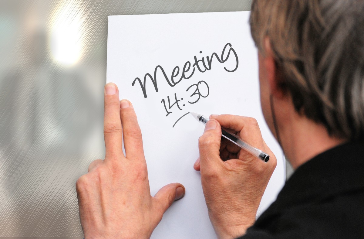 Set up a meeting with your lecturer to get feedback on your assignment.