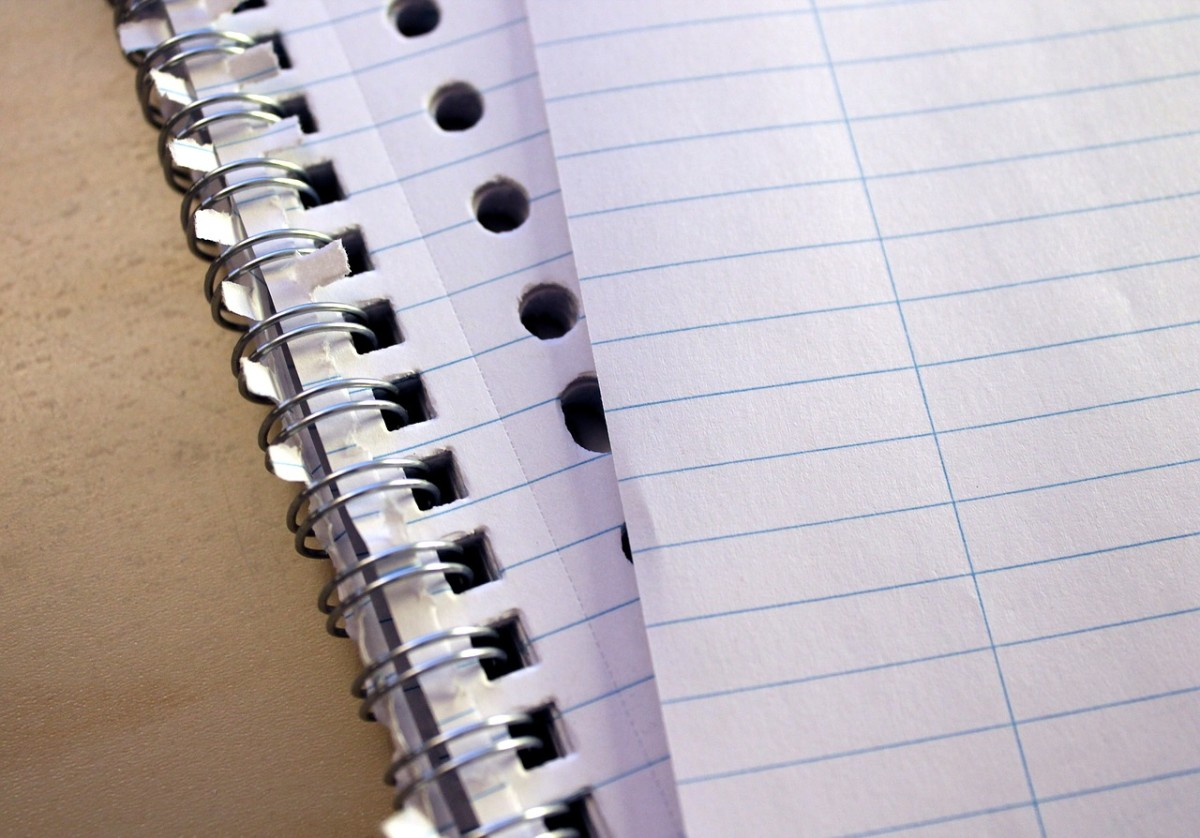 Take a notebook to the meeting.