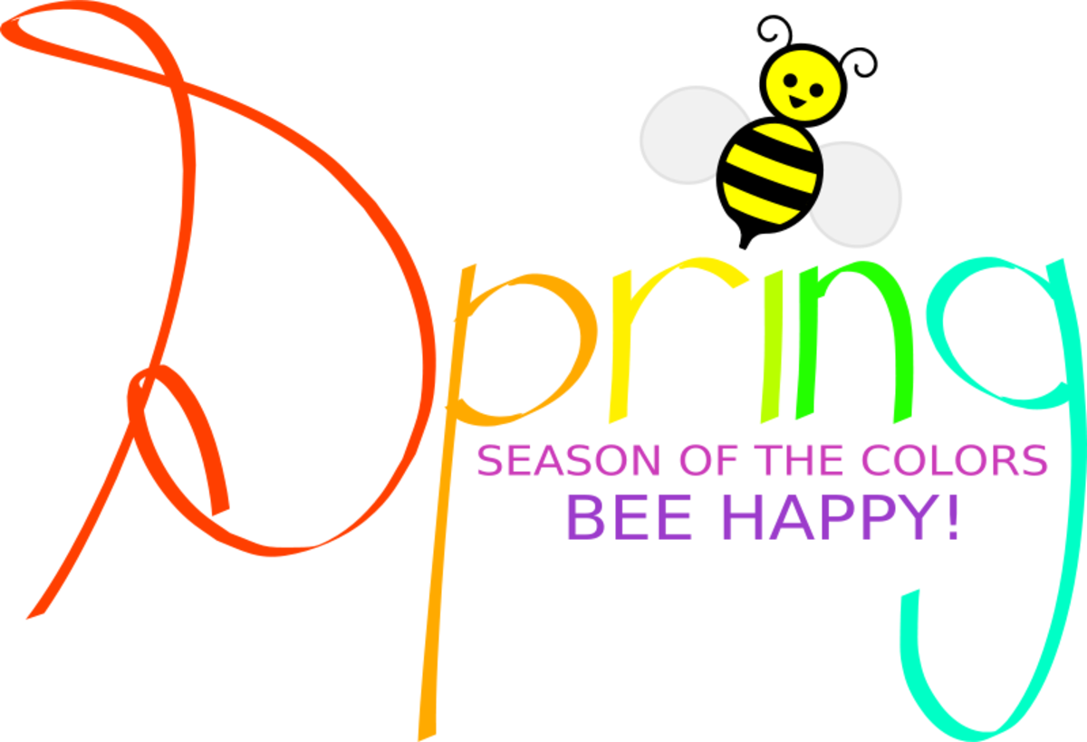 Happy Spring with Bee