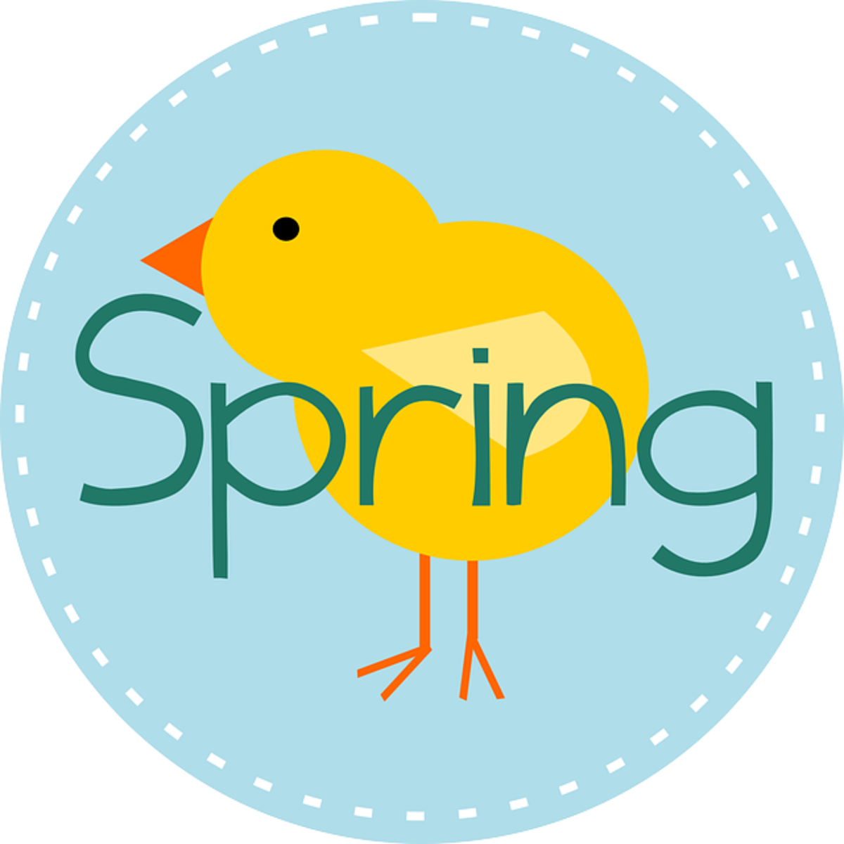 Spring with Chick
