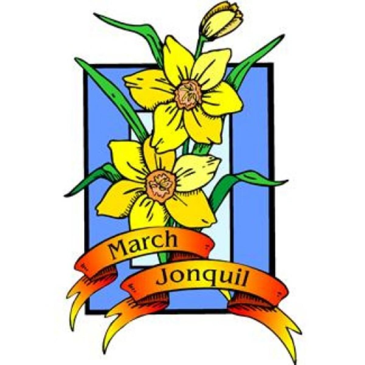 March Flower Clipart Spring clip art best free clip art