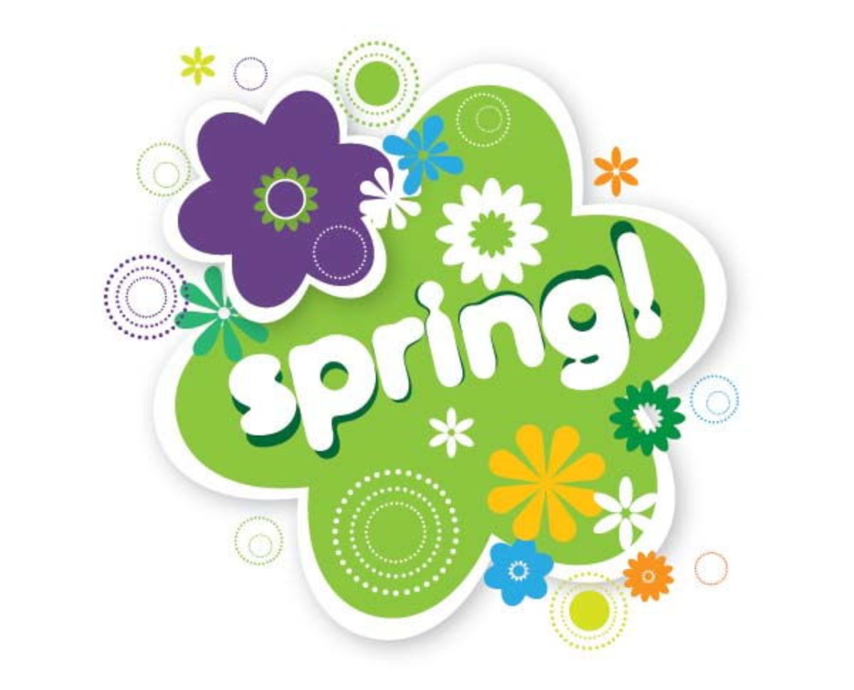 Spring Graphic