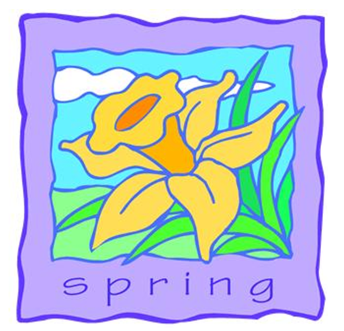 Spring with Daffodil