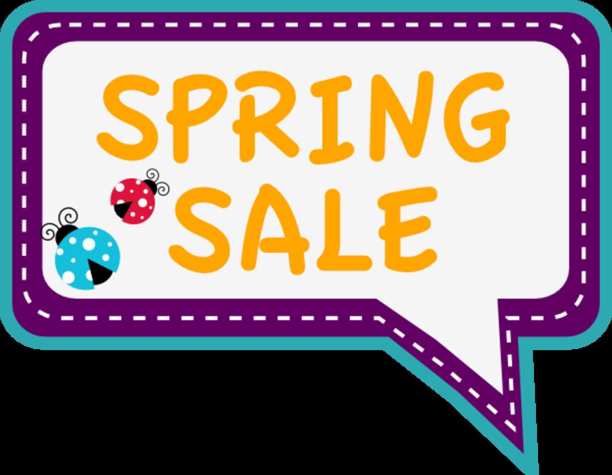 Spring Sale Clip Art