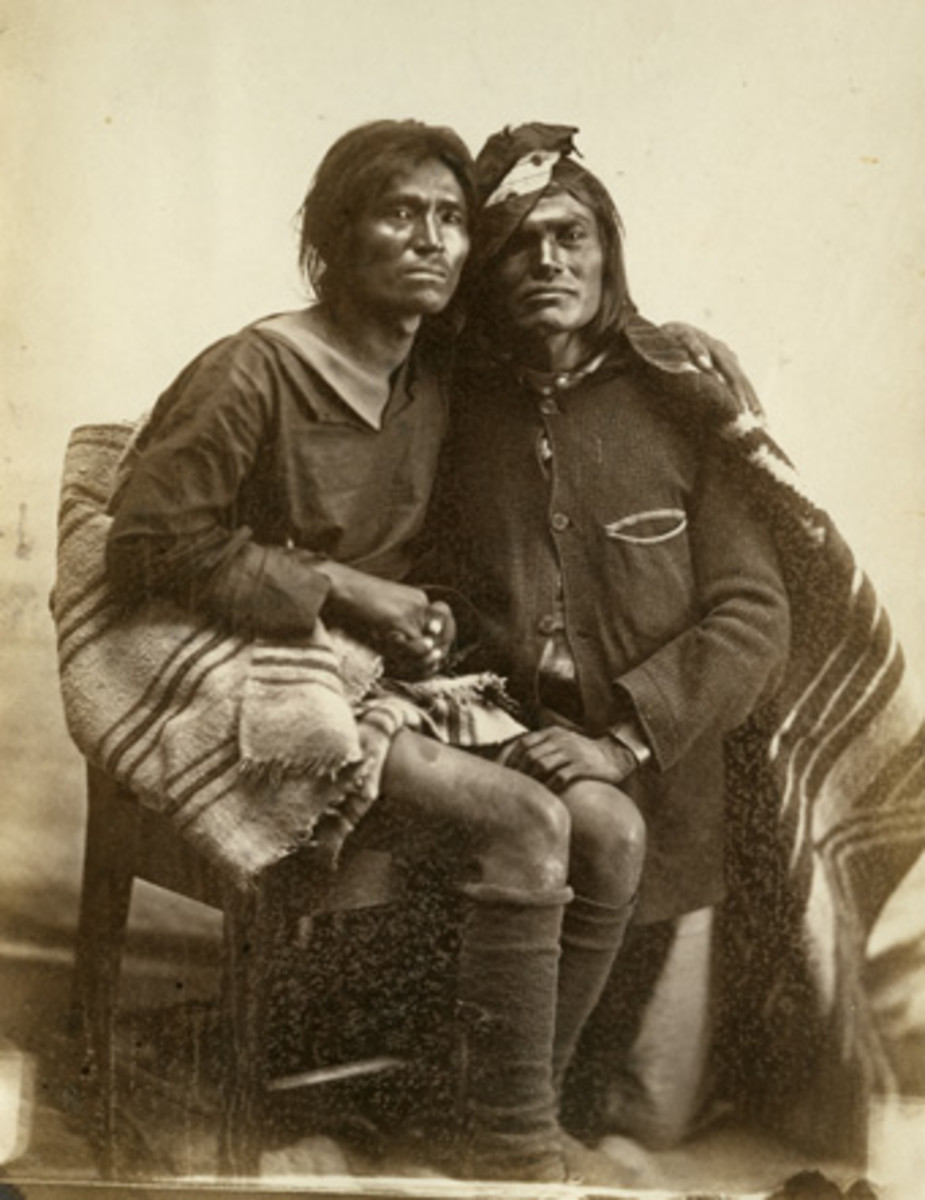 Navajo same sex couple