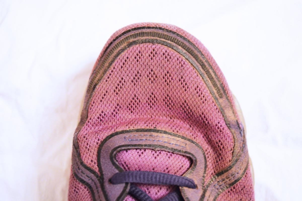 PureFlow 1 toe box
