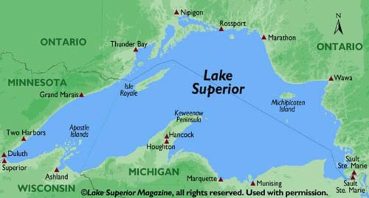 Island Lake Duluth Mn Depth Map