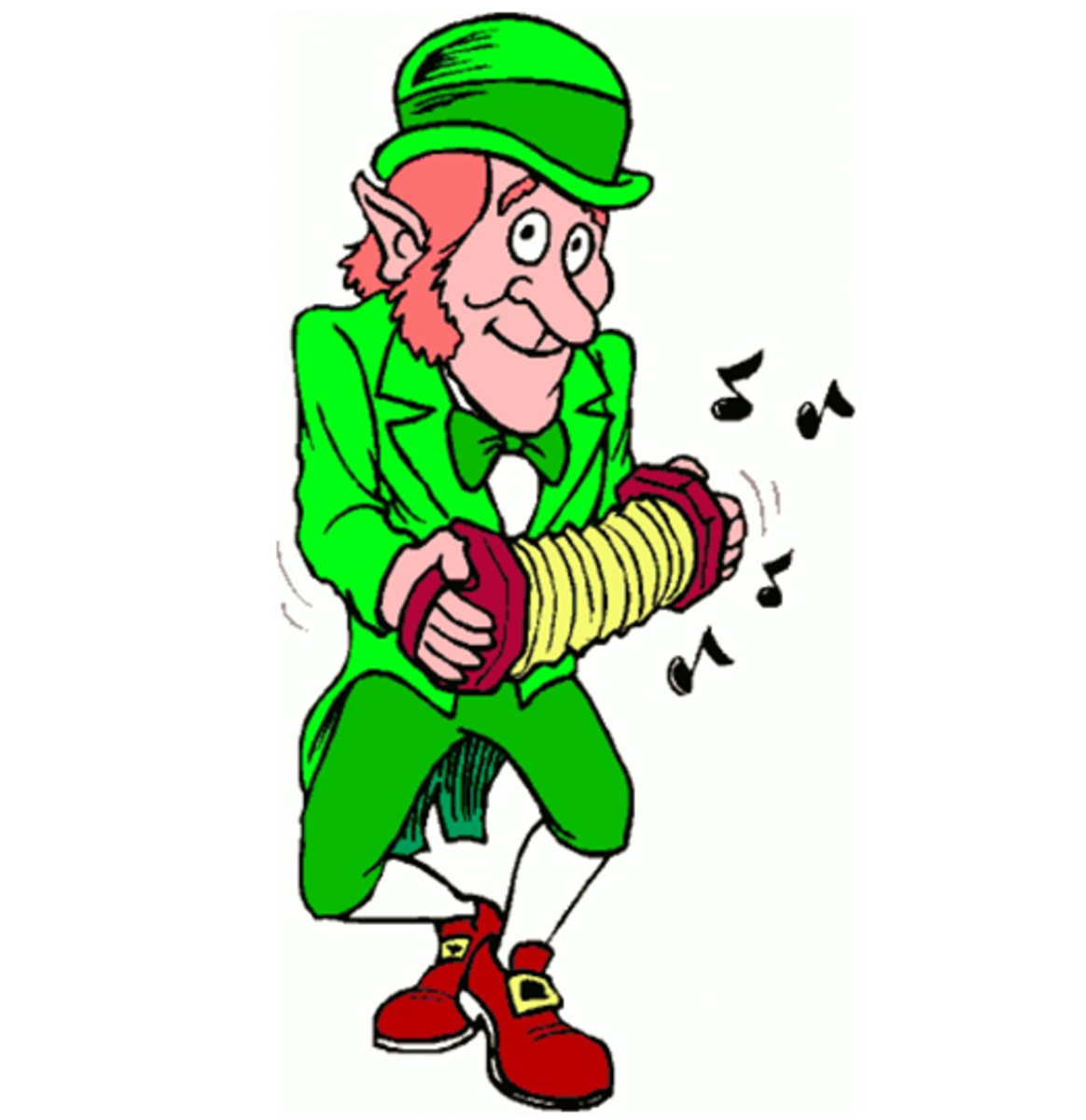 Leprechaun Accordion Player