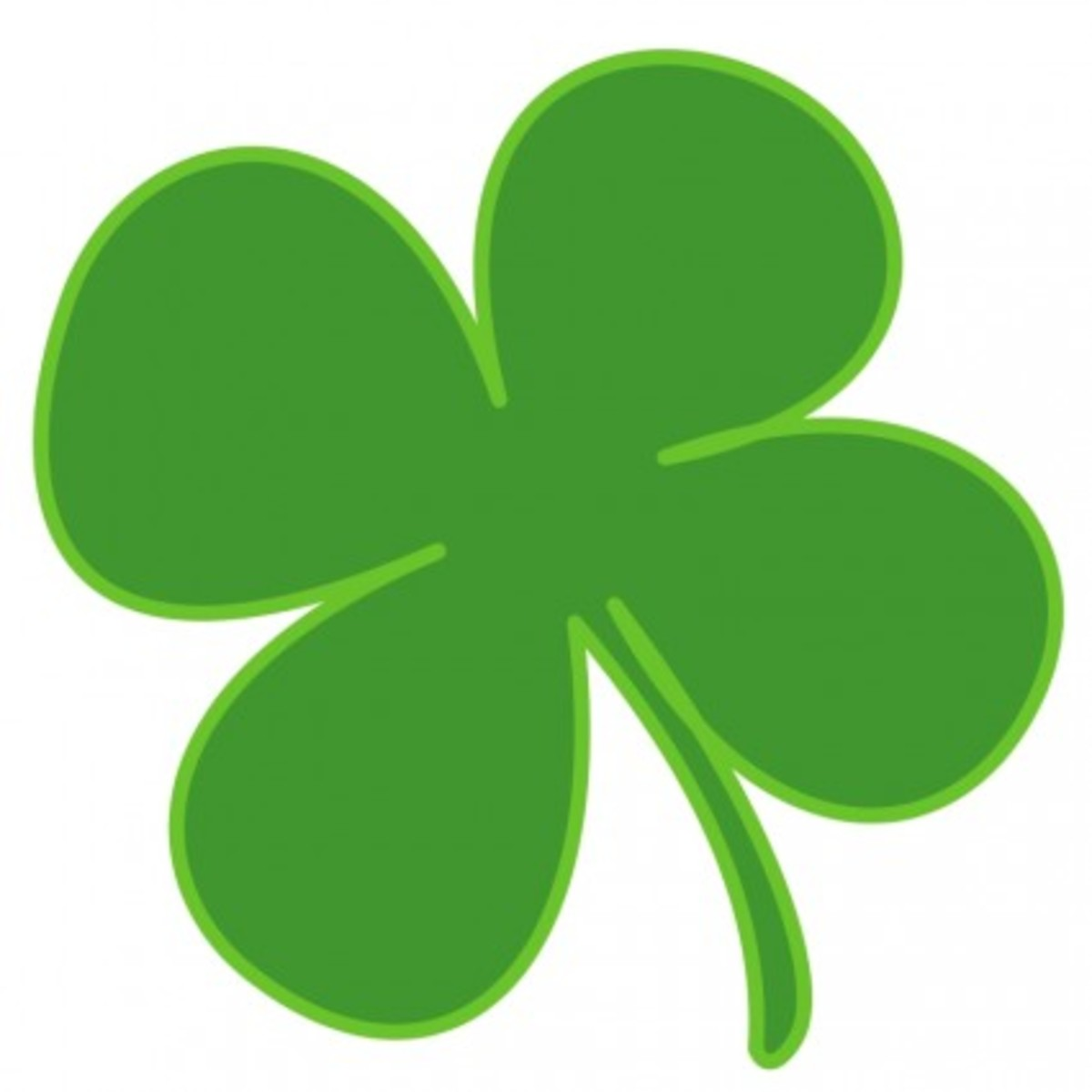 Lucky-Four Leaf Shamrock