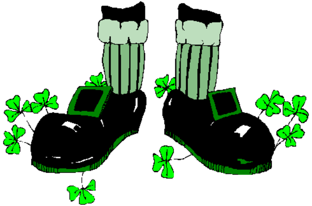 Leprechaun Tap Shoes
