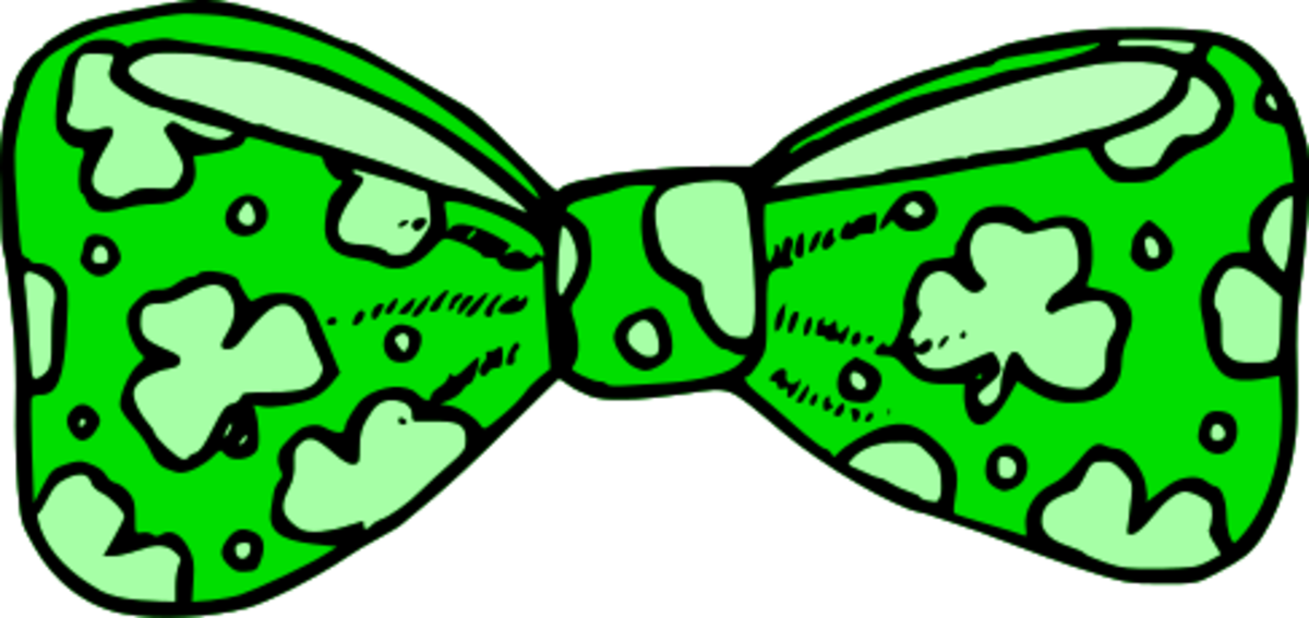 St. Patrick's Day Bow Tie