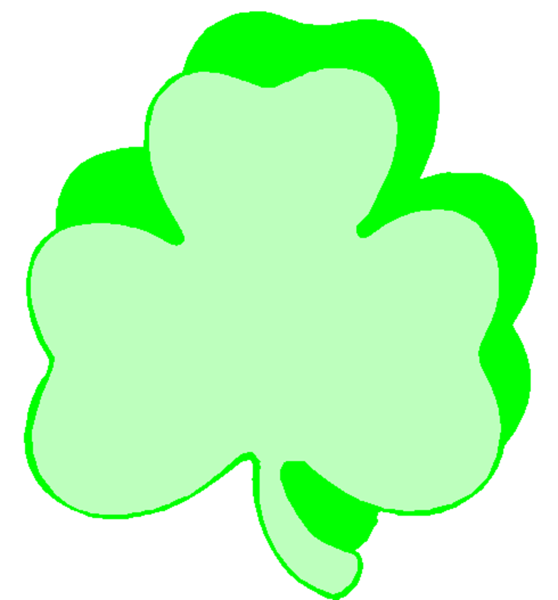 Double Shamrock Graphic