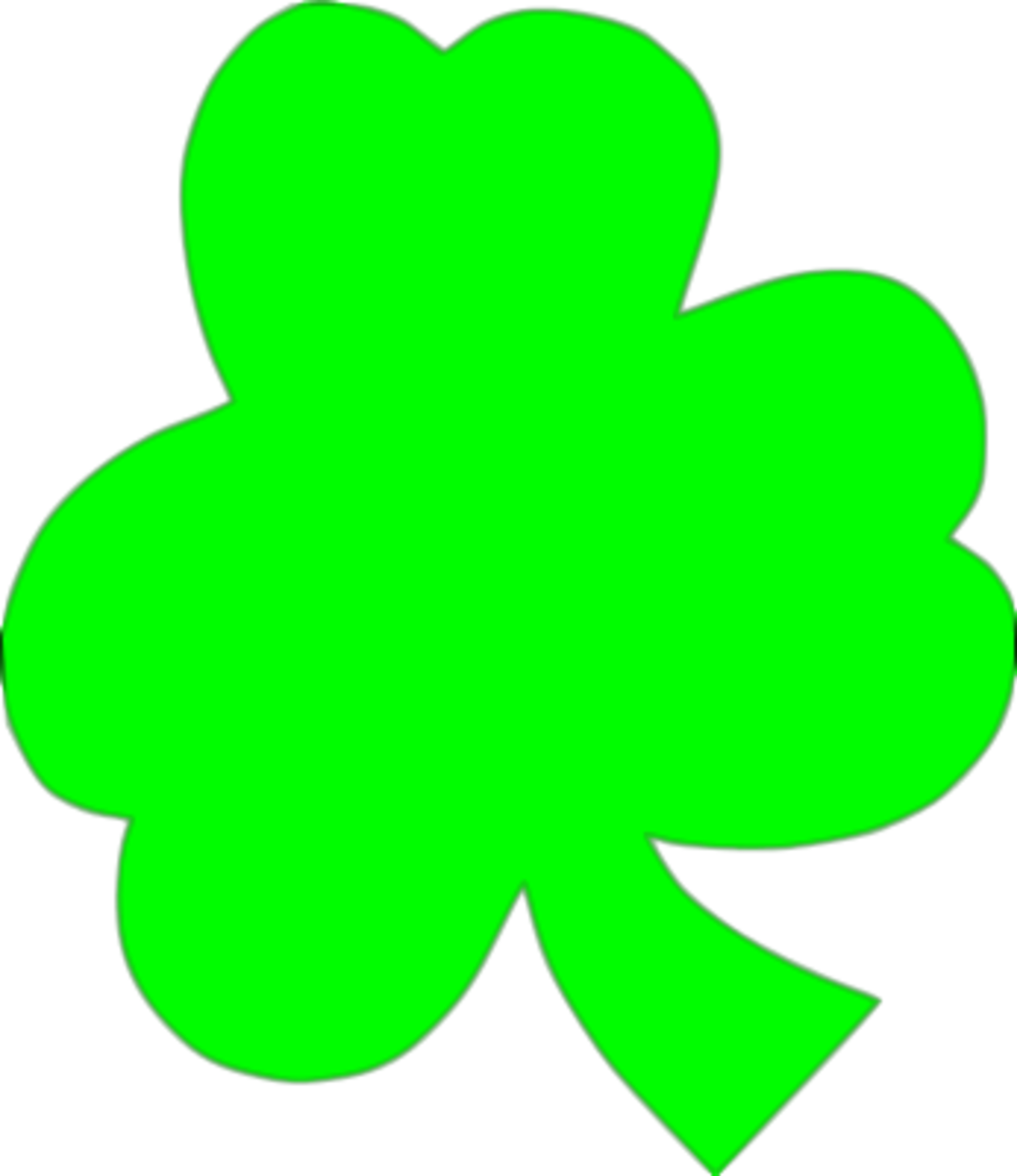 Large Shamrock Illustration