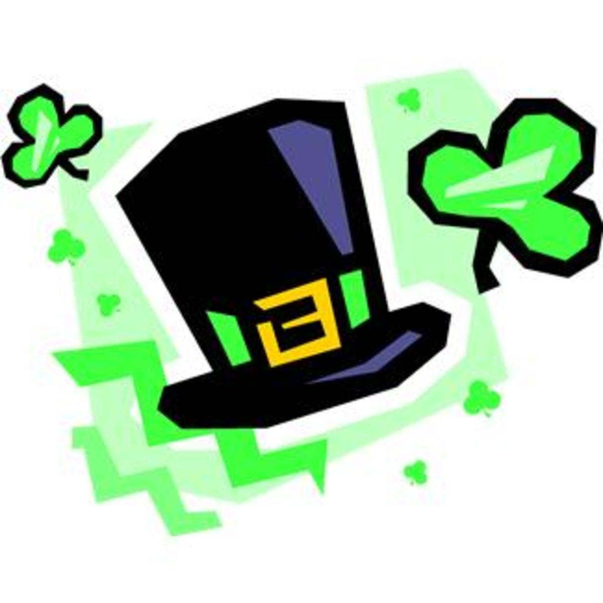 Black Leprechaun Hat