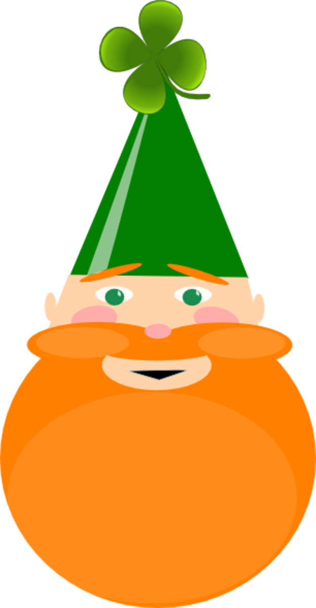 Leprechaun with Pointed Hat