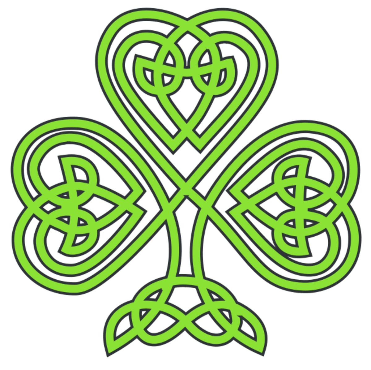 Celtic Shamrock  Art