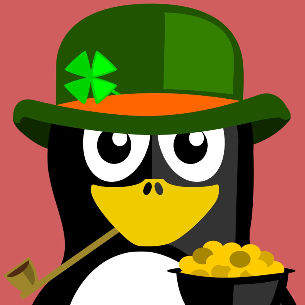 Leprechaun Penguin