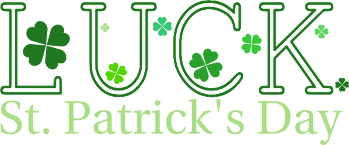 St. Patrick's Day Luck with Four-Leaf Clovers