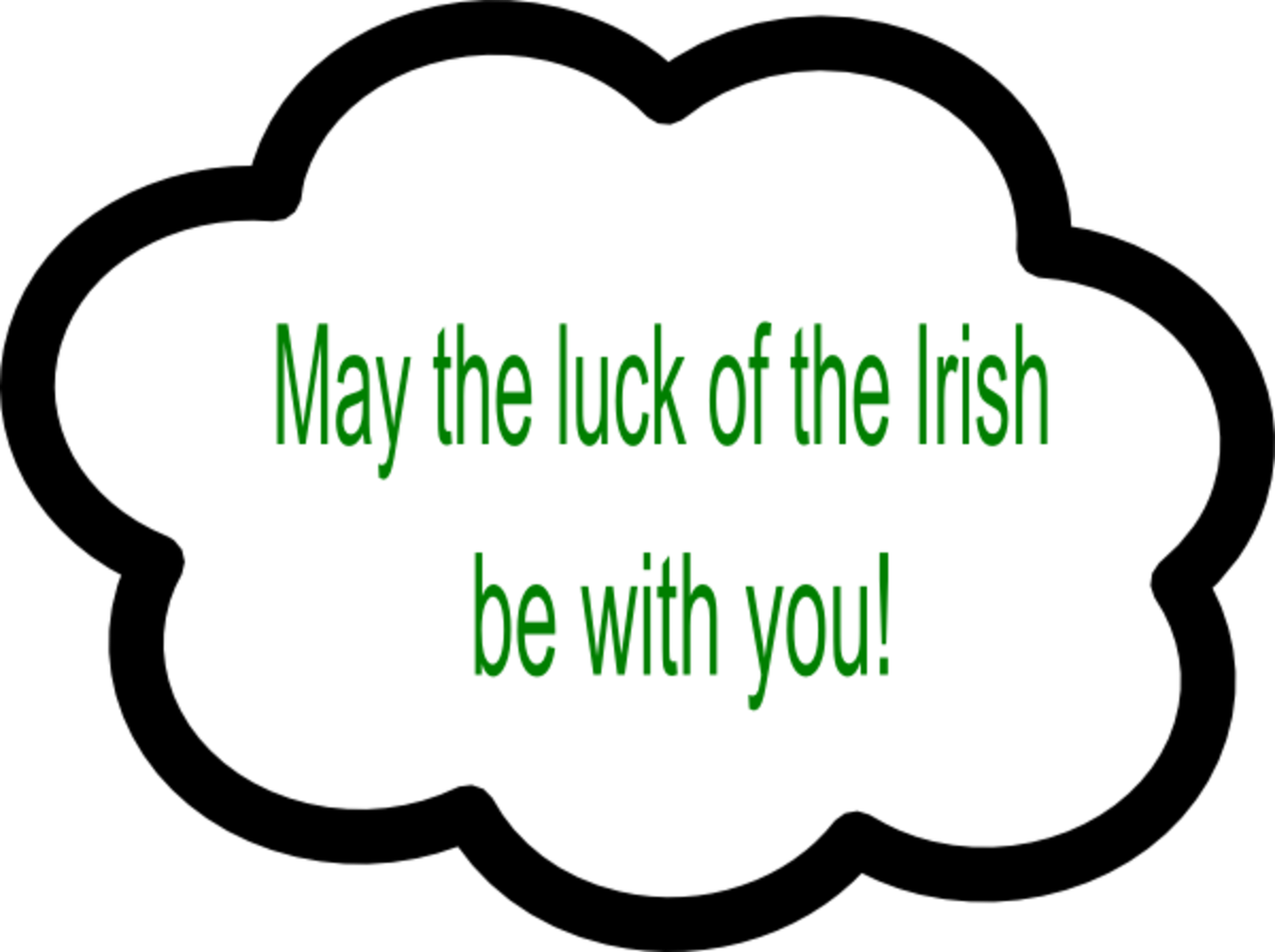 Lucky Irish Blessing