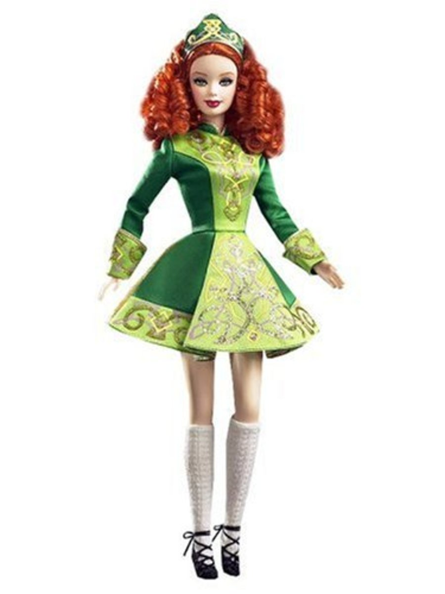 Irish Jig Dancing Barbie