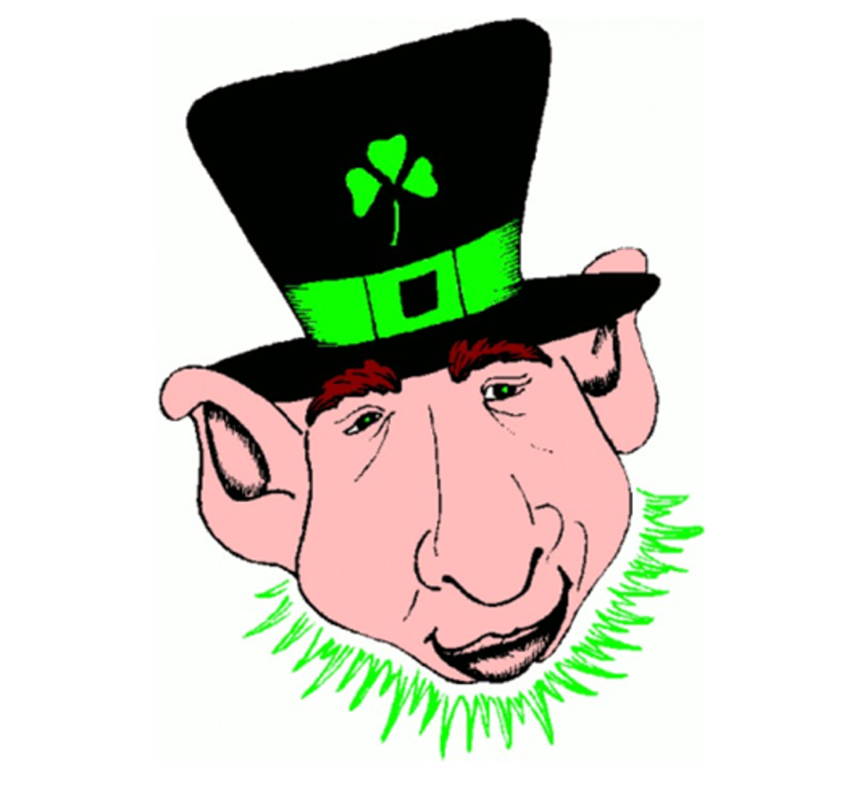 Leprechaun with Pointed Ears