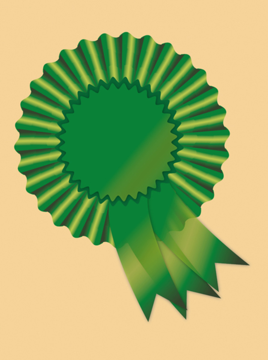 Green Badge for St. Patrick's Day