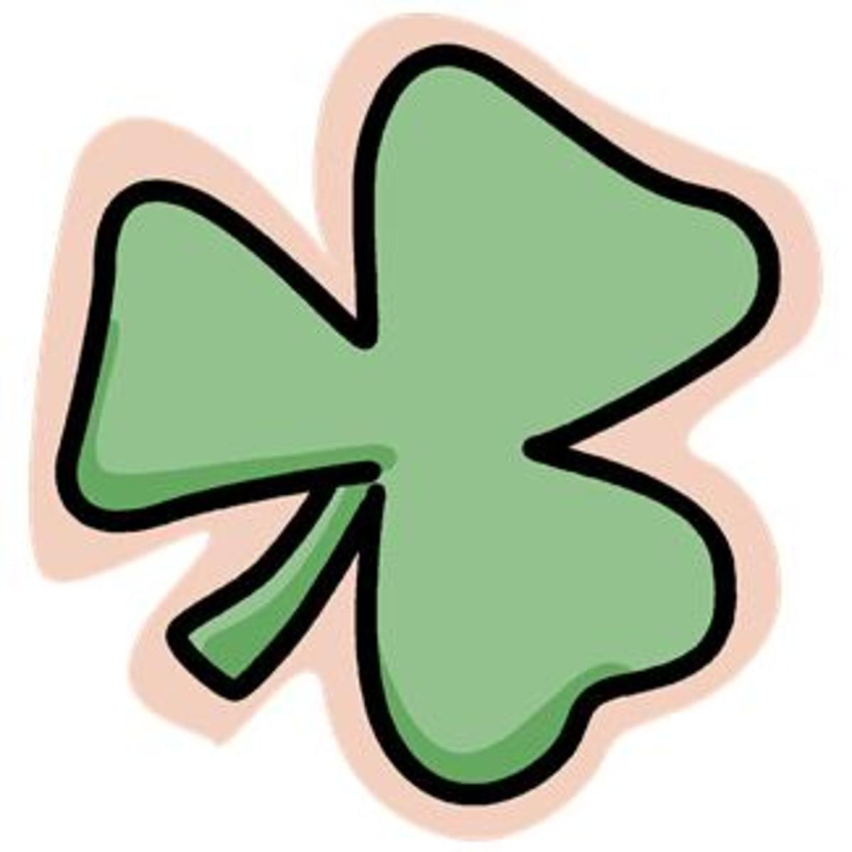 Outlined Shamrock