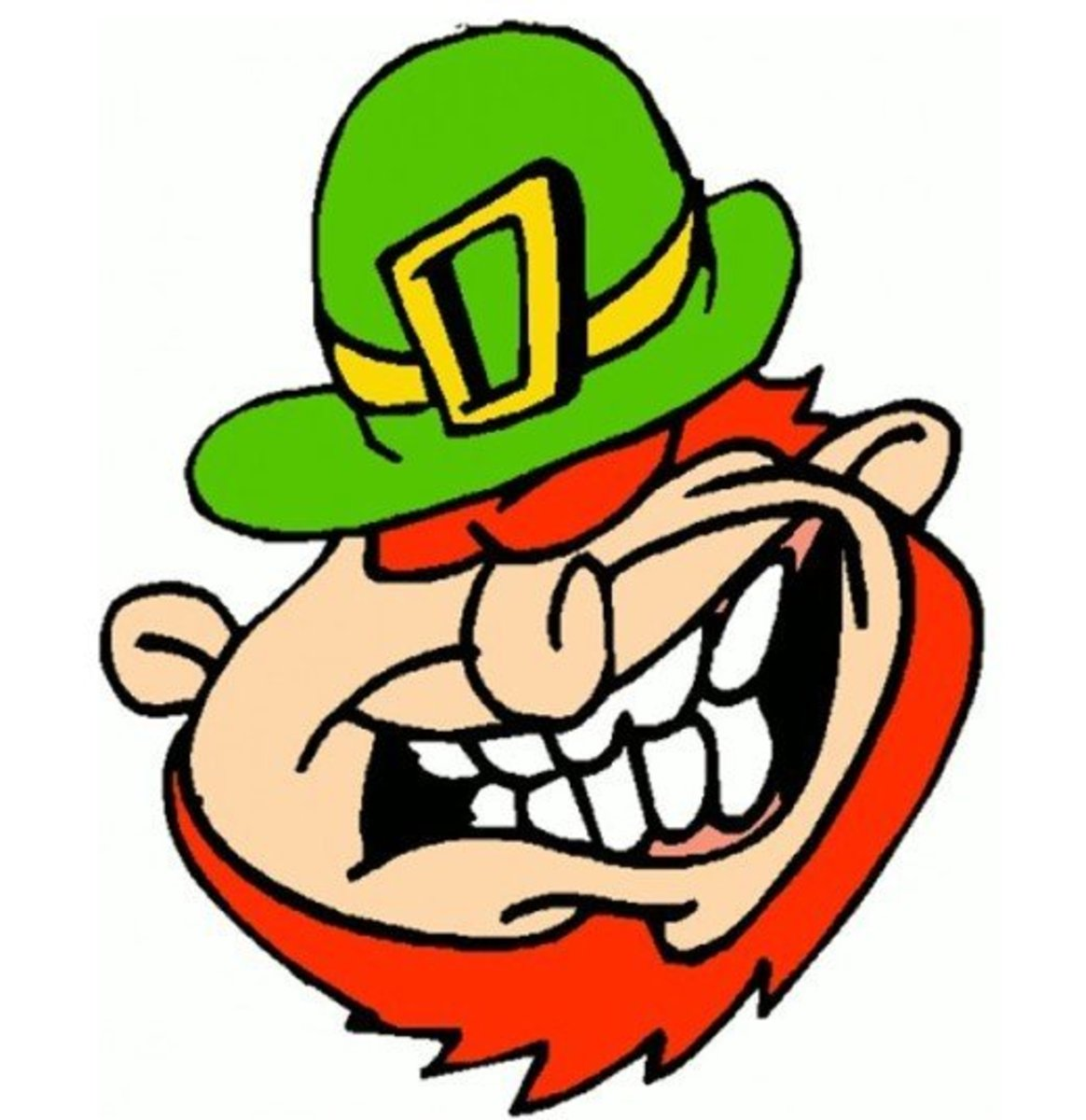 Really Happy Leprechaun