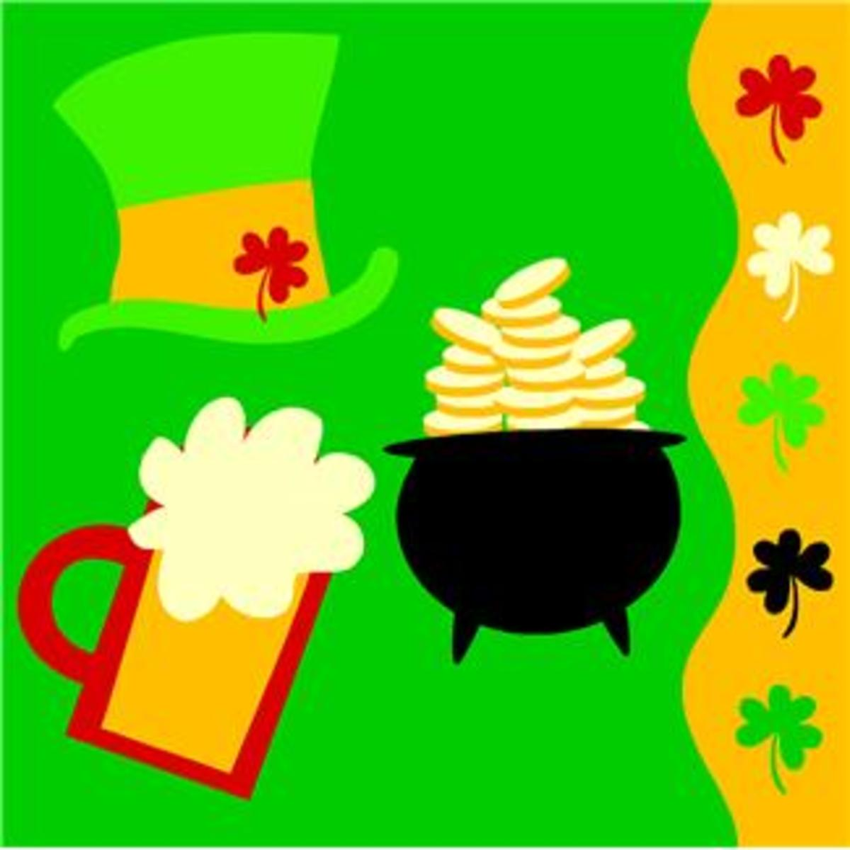 200 ST. PATRICK'S DAY IMAGES and Shamrock Clip Art