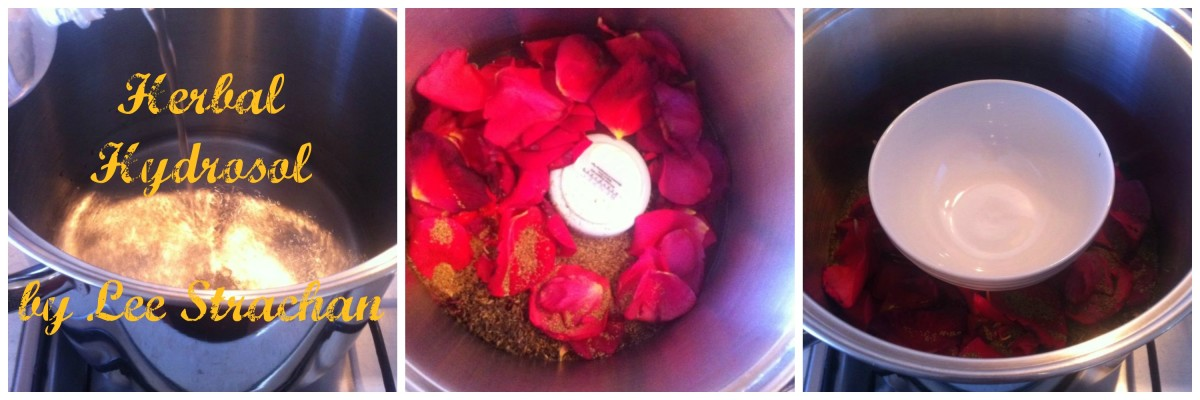 Learning to make 'Floral Water' will make all your skin care creations luxuriously natural!