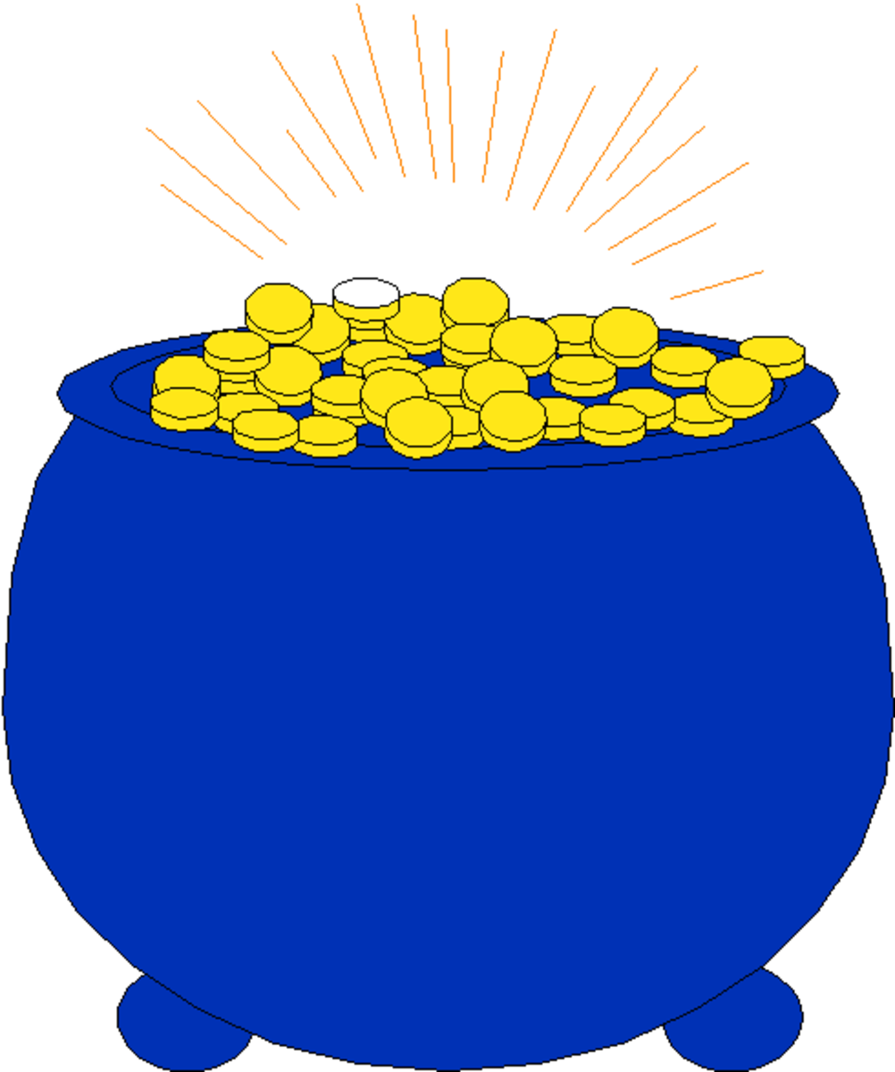 Blue Pot of Gold