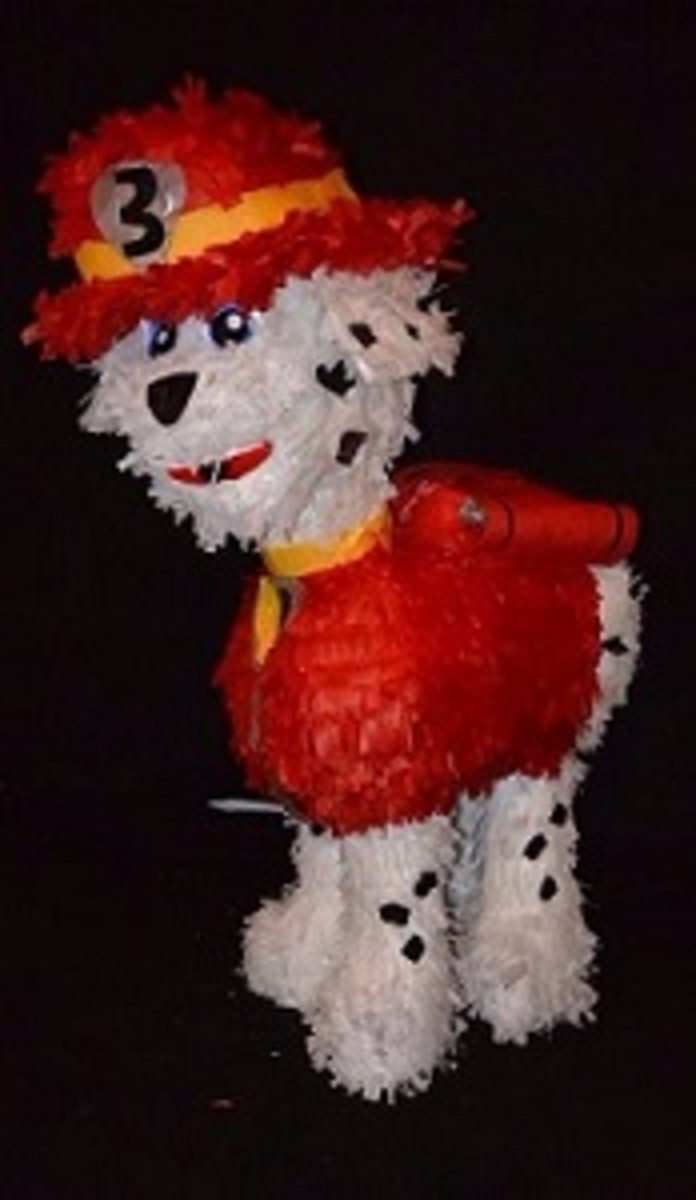 Paw Patrol Pinata (Marshall the firePup)
