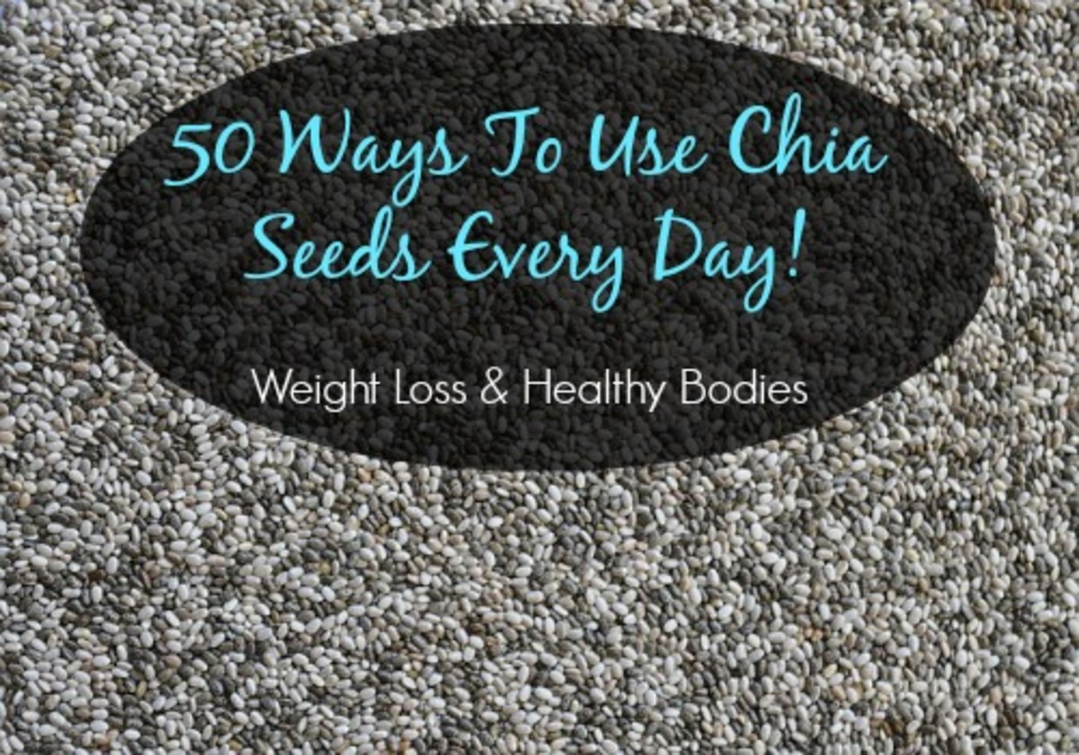 ways to use chia seeds for health and weight loss