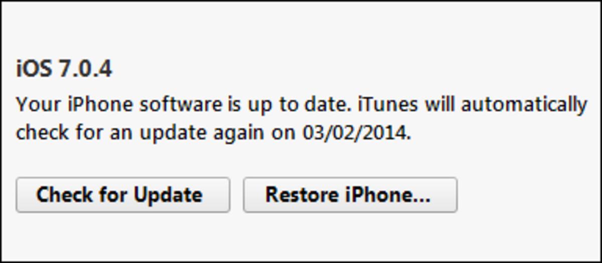 Restore an iPhone to remove jailbreak apps and tweaks