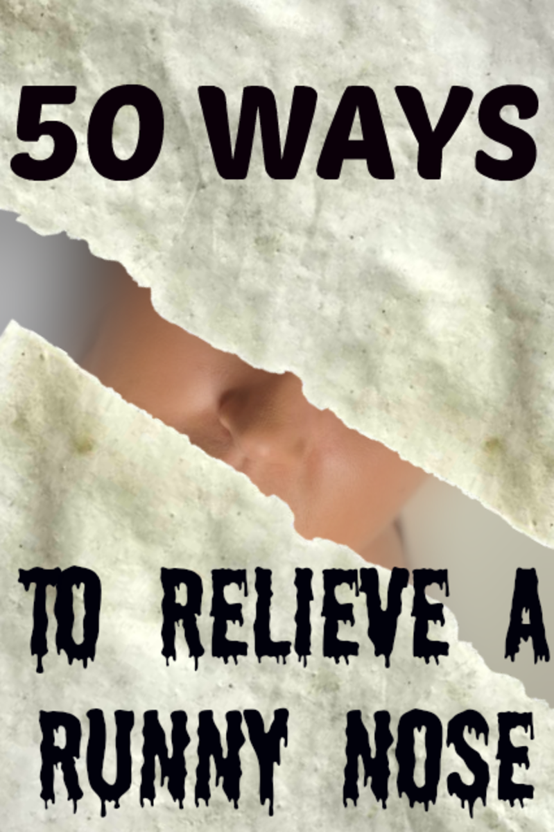 50 ways to relieve a runny nose