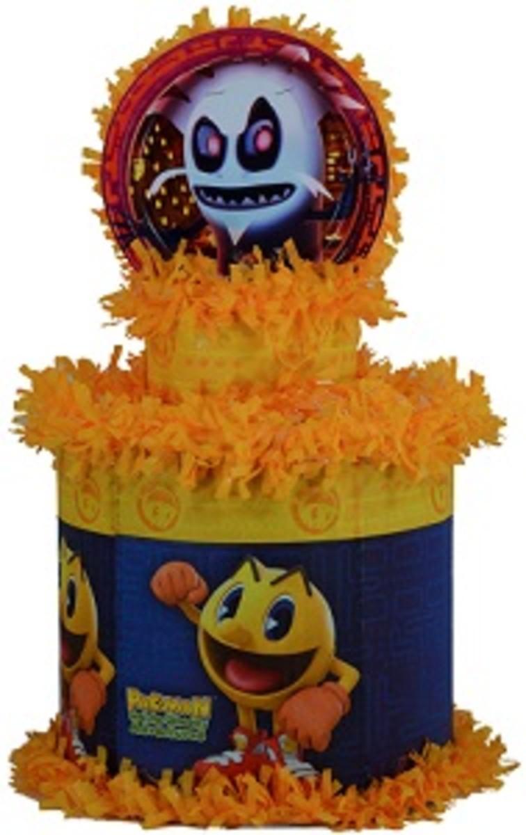 Pac-Man Pullstring Pinata